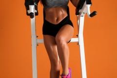 Abigail Mac Big Boobs in Gym Sweaty Workout 04