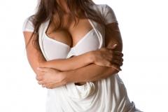Abigail Mac Big Tits White Bra 02