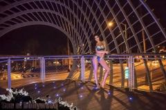 Abigail Ratchford Big Tits Blue Bikini 03