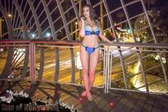 Abigail Ratchford Big Tits Blue Bikini 16