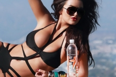 Abigail Ratchford Black Swimsuit 06