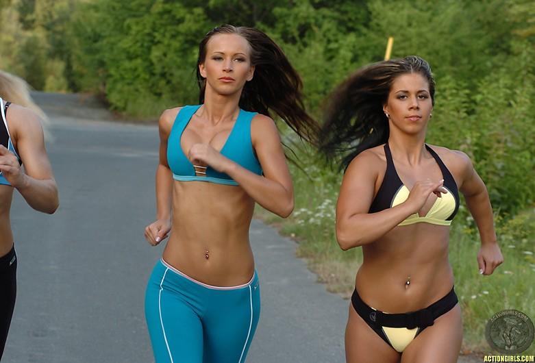 ActionGirls Athletes Get Training 03