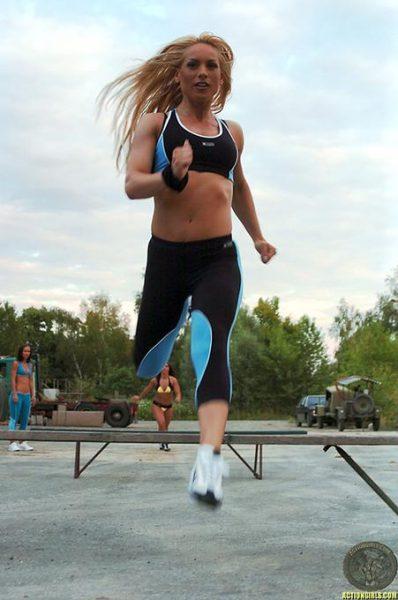 ActionGirls Athletes Get Training 13