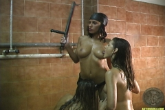 ActionGirls Four Girls Shower Scene 13