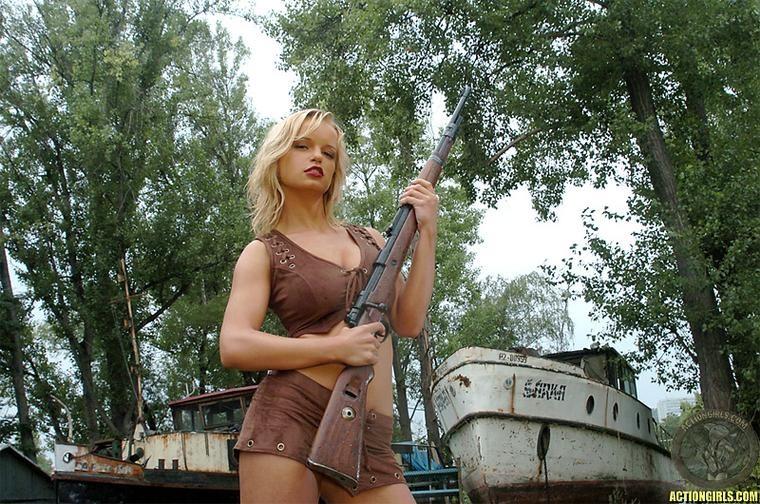 ActionGirls Nancy Lane Combat Boobs 01