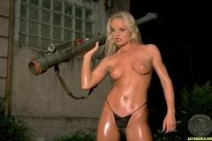 ActionGirls Sylvia Fires Big Guns 06