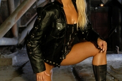 ActionGirls Sylvia Saint Leather Officer with Luger 03
