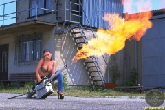 ActionGirls Veronica Zemanova Big Boobs and a Flamethrower 04