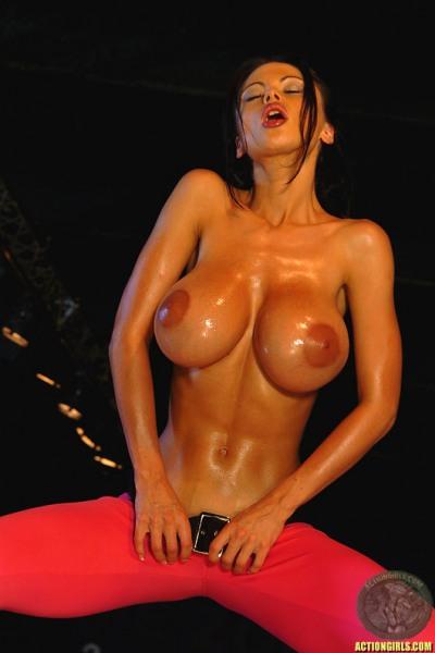 ActionGirls Veronica Zemanova Big Tits Bowling 07