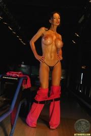 ActionGirls Veronica Zemanova Big Tits Bowling 09