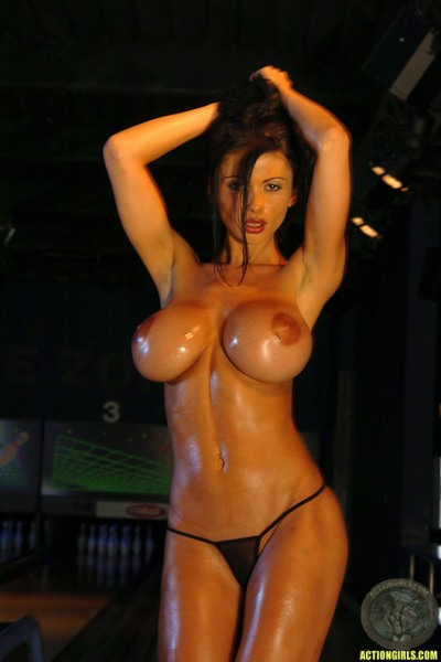 ActionGirls Veronica Zemanova Big Tits Bowling 13