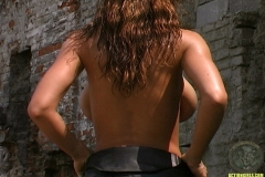 ActionGirls Veronica Zemanova Fires Guns Topless 15