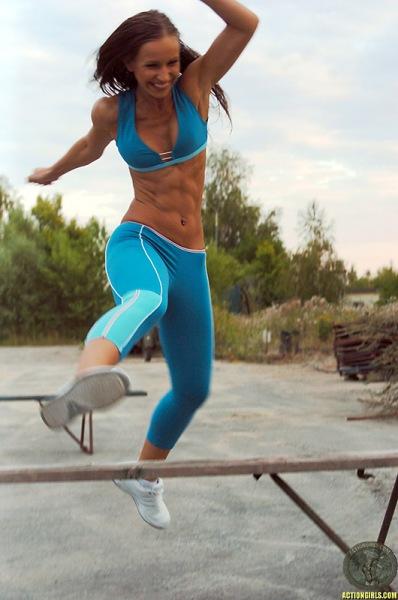 ActionGirls Athletes Get Training 12