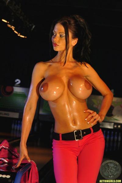 ActionGirls Veronica Zemanova Big Tits Bowling 05