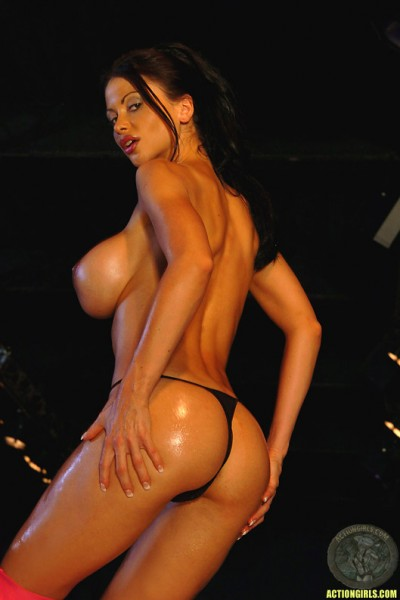 ActionGirls Veronica Zemanova Big Tits Bowling 10