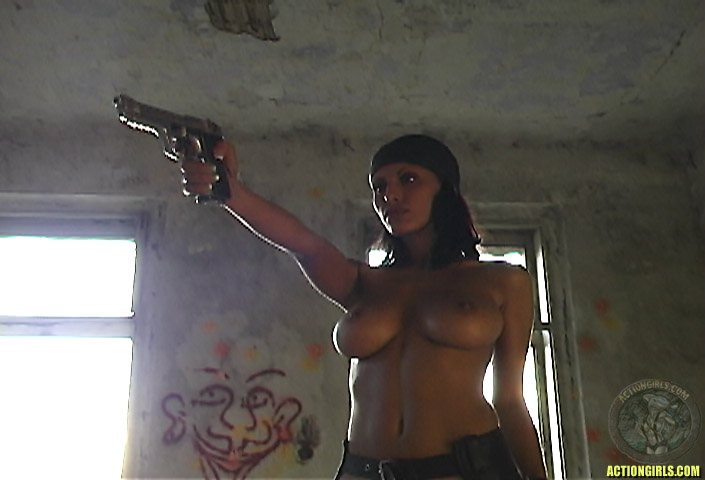 ActionGirls Veronica Zemanova Topless Bad Cop 03