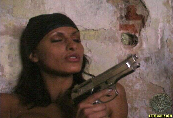 ActionGirls Veronica Zemanova Topless Bad Cop 13