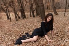 Adrianne-Thelma-Big-Boobs-Sexy-Black-Dress-006
