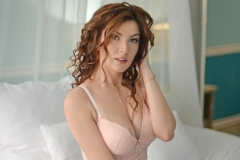 Adrianne-Thelma-Big-Tits-in-Sexy-Peach-Lingerie-007