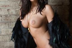 Alexandra Tyler Tits in Black Fur 05