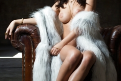 Alexandra Tyler Tits in Black Fur 08