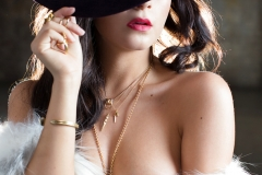 Alexandra Tyler Tits in Black Fur 16