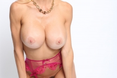 Alexis Fawx Big Tits Pink Bra and Panties with Stockings 0011