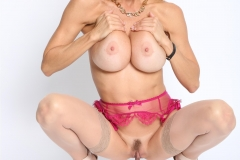 Alexis Fawx Big Tits Pink Bra and Panties with Stockings 018