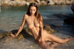 Alina-Big-Tits-in-Orange-Bikini-for-Photodromm-012
