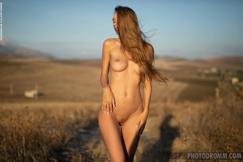 Alina-Big-Tits-in-White-Flowy-Dress-for-Photodromm-008