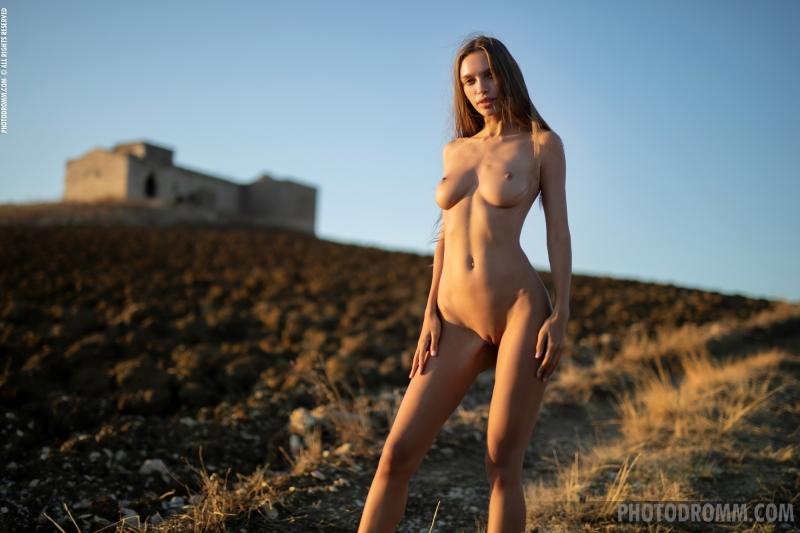 Alina-Big-Tits-in-White-Flowy-Dress-for-Photodromm-012