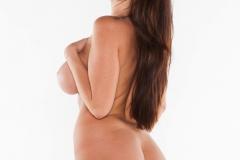 Alison Tyler Big Tits Shocking Pink Bra and Panties 013