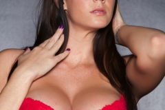 Alison Tyler Huge Tits Red Lingerire 13
