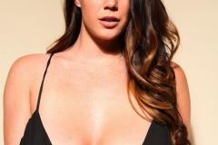 Alison Tyler Massive Boobs Hanging in Black Body 01
