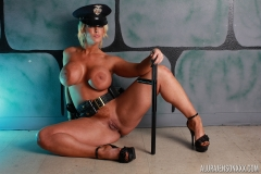 Alura Jenson is Naked Big Tit Police Lady 011
