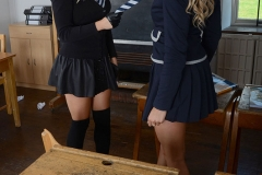 Amy-Green-and-Lainey-Watson-Strip-pout-of-school-uniform-at-St-MacKenzies-002