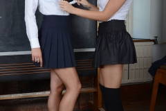 Amy-Green-and-Lainey-Watson-Strip-pout-of-school-uniform-at-St-MacKenzies-004