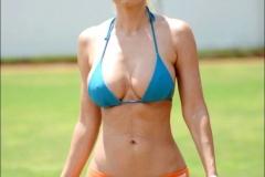 Ana Braga Bikini on the beach 09