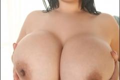 Ana Rica Huge Boobs Pink Bikini 018