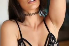Anastasia Harrisl Big Boobs and Black Lingerie 001