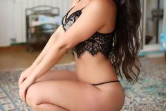 Anastasia Harrisl Big Boobs and Black Lingerie 004