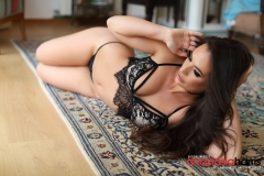 Anastasia Harrisl Big Boobs and Black Lingerie 008