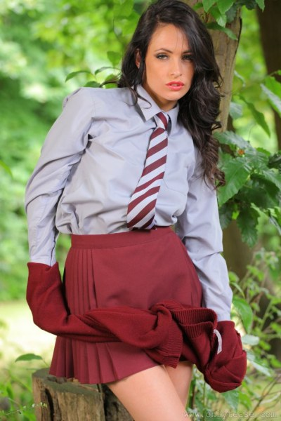 Anastasia-Strips-out-of-uniform-and-shows-big-tits-for-OnlyTease-016