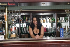 Aneta Buena Huge Tit Barmaid Gets them Out 001