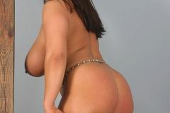 Aneta Buena Huge Tits in White Bra 013