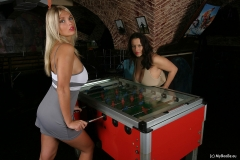 Aneta Buena & Ines Cudna in Huge Naked Tit Fussball Game 001