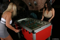 Aneta Buena & Ines Cudna in Huge Naked Tit Fussball Game 003