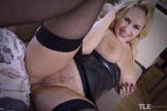 Angel-Wicky-Big-Boobs-in-Shiny-Black-Minidress-016