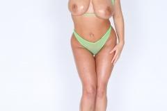 Angela White Big Boobs Naked and Oily 009