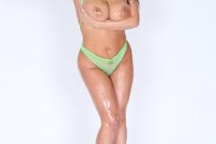 Angela White Big Boobs Naked and Oily 015